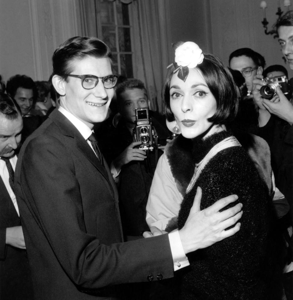 Yves Saint Laurent and Kouka Denis at Dior (1959)
