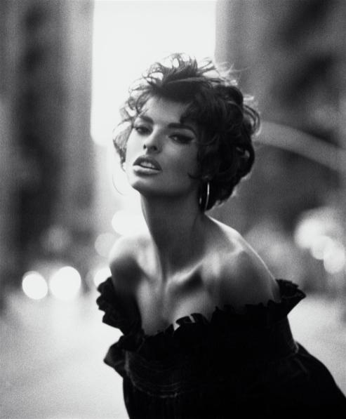 Linda Evangelista by Steven Meisel, Vogue Italia (June, 1990)