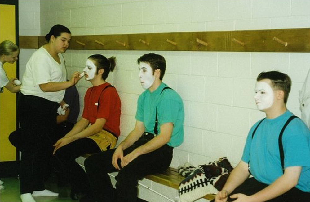 Ty Woolner at mime performance
