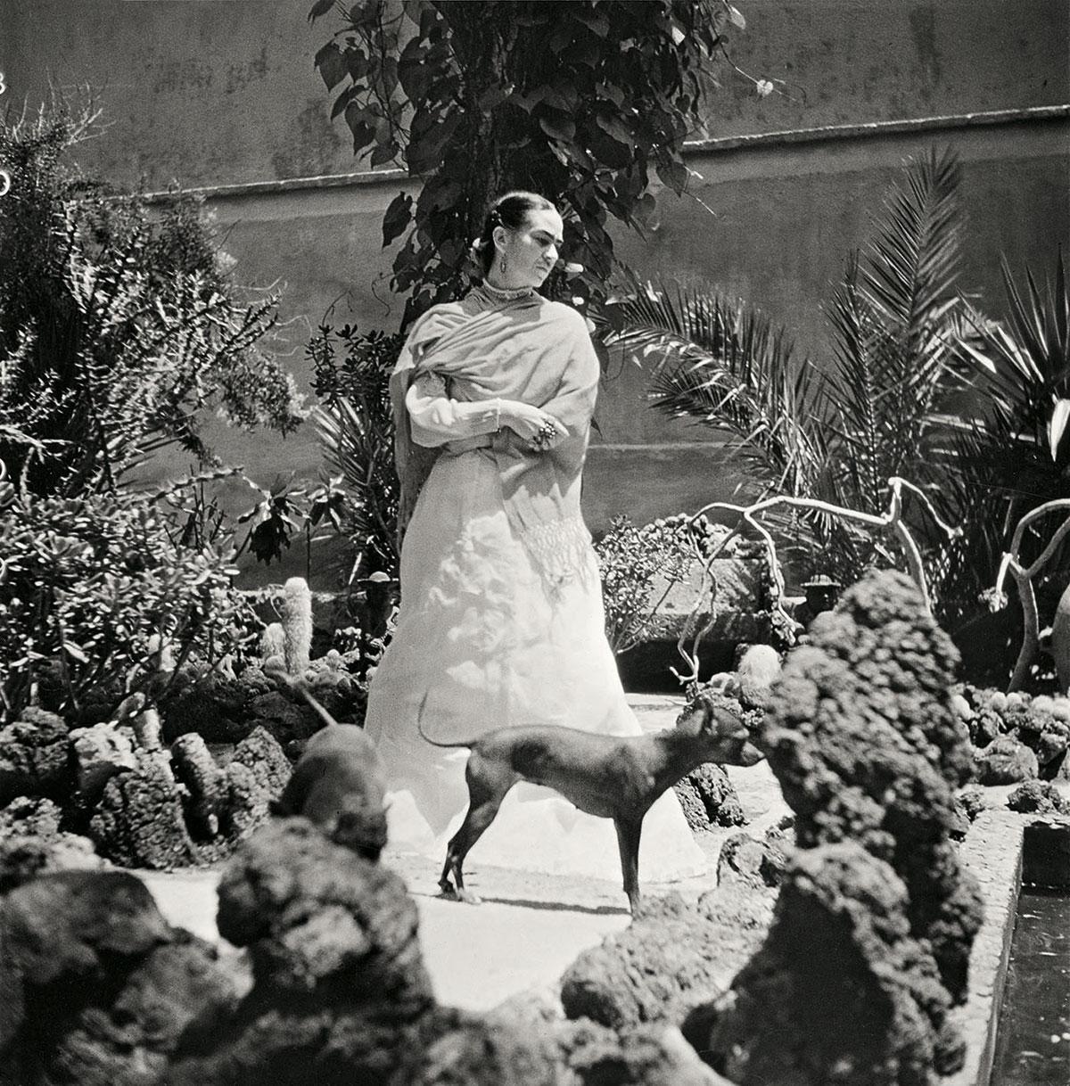 Frida Kahlo by Gisèle Freund (1950/1952)