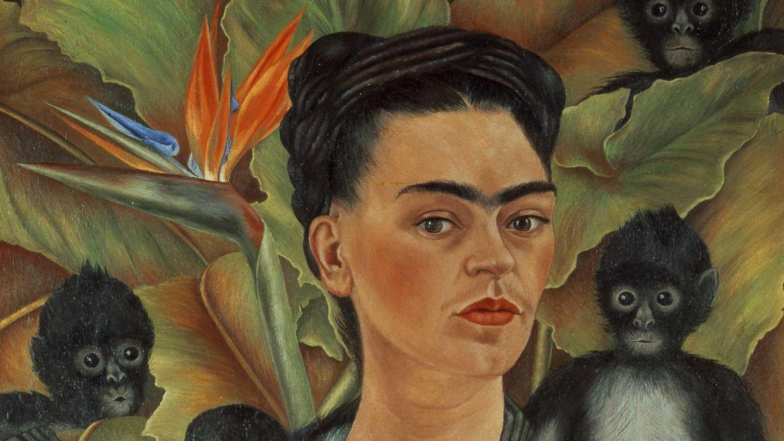 Gwen Duda Fine Art Studios: In person Frida Kahlo and