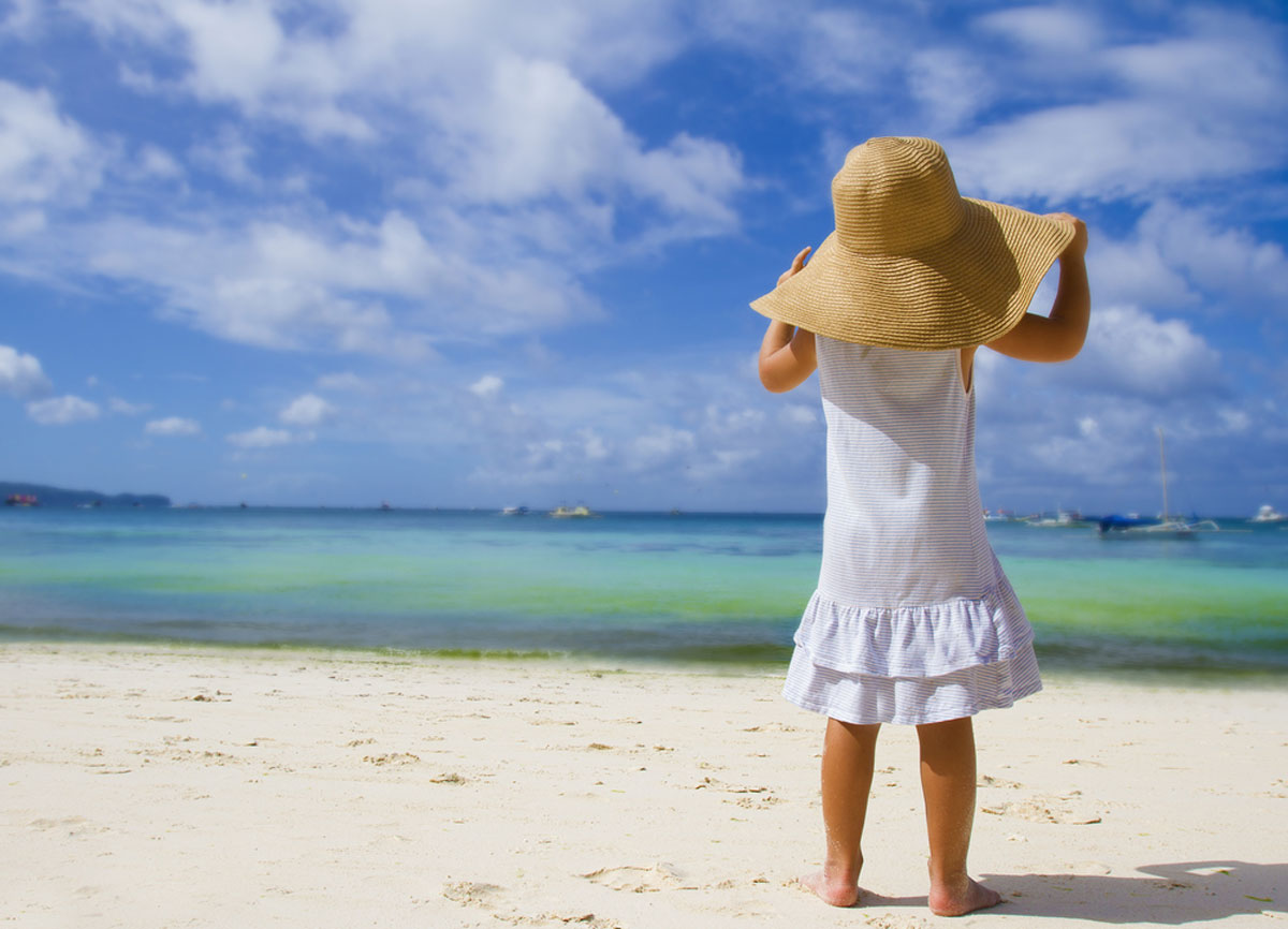 She has all the summer time in the world | source: Shutterstock