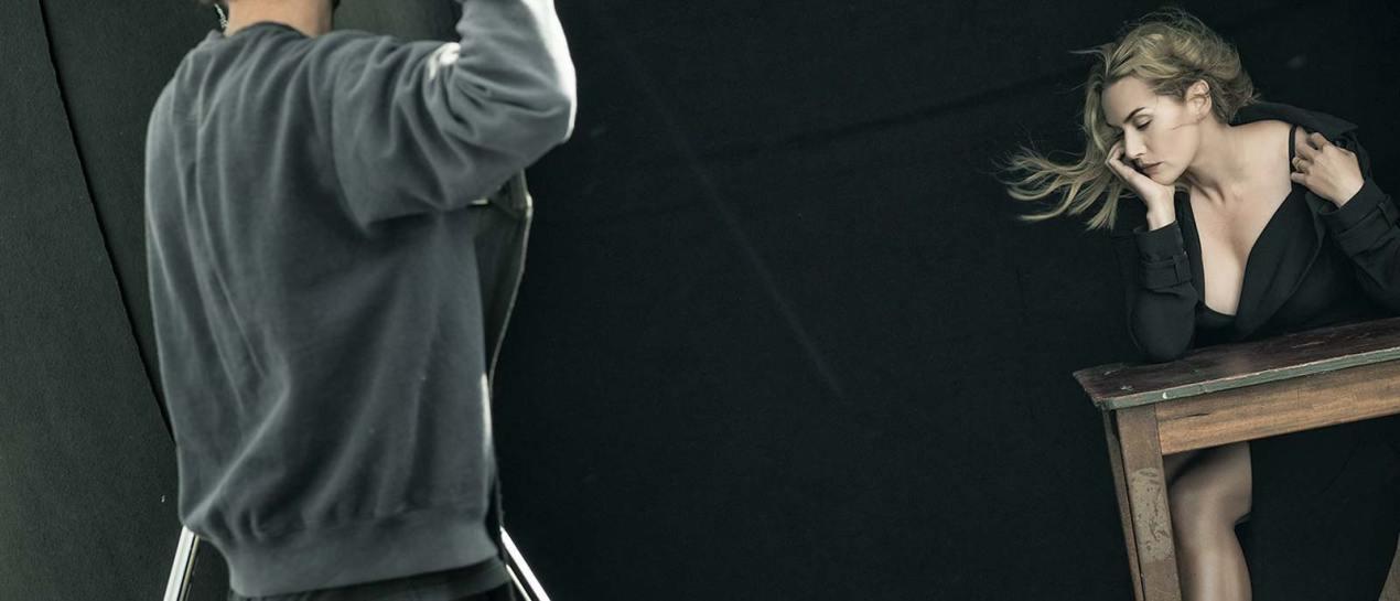 Kate Winslett by Peter Lindbergh for Pirelli