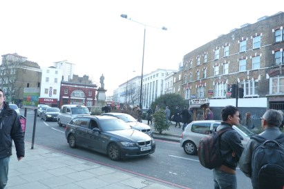 Southern end of Camden High Street