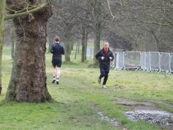 Joggers in Regent's Park