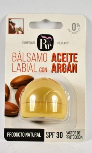 Labial con aceite de argán