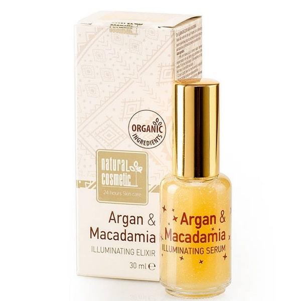 Elixir iluminador con Argán y Macadamia