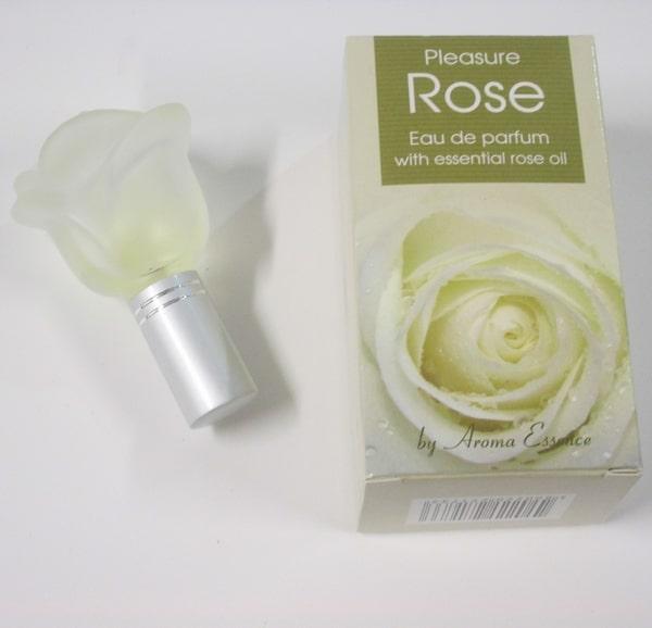 Perfume esencia de rosa amarilla