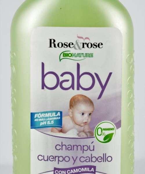 Champú para el bebé