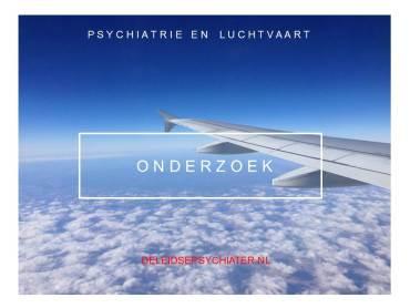 Kan de psychiatrie iets betekenen voor de luchtvaart?
