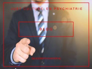 'Just culture' en psychiatrie