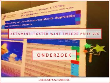 Ketamine-poster tweede bij posterprijzen VJC