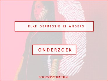 Elke depressie is anders