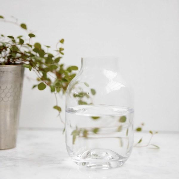 Jarrón de cristal Shaped de la firma House Doctor