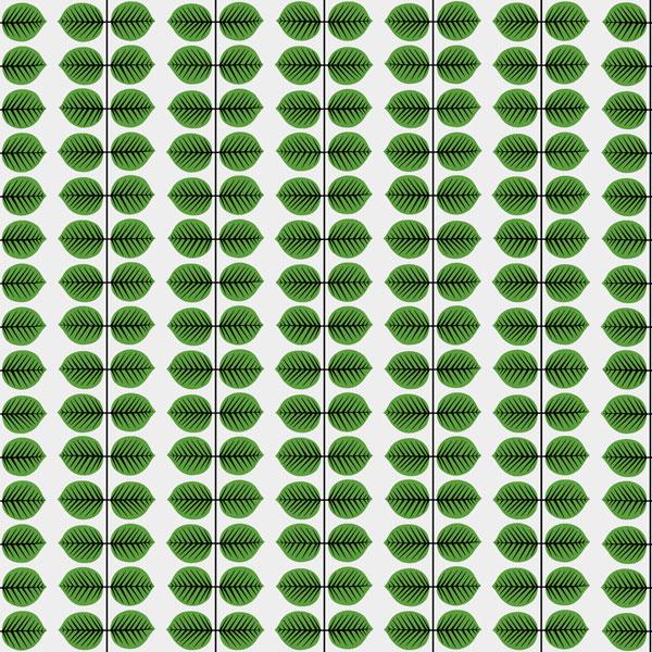 Papel pintado Bersa en color verde de la colección Scandinavian Designers II de Borastapeter