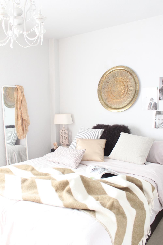 diseño e interiores de un dormitorio