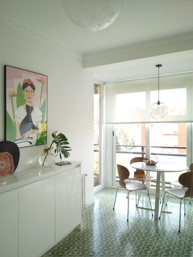 zona de office de la cocina