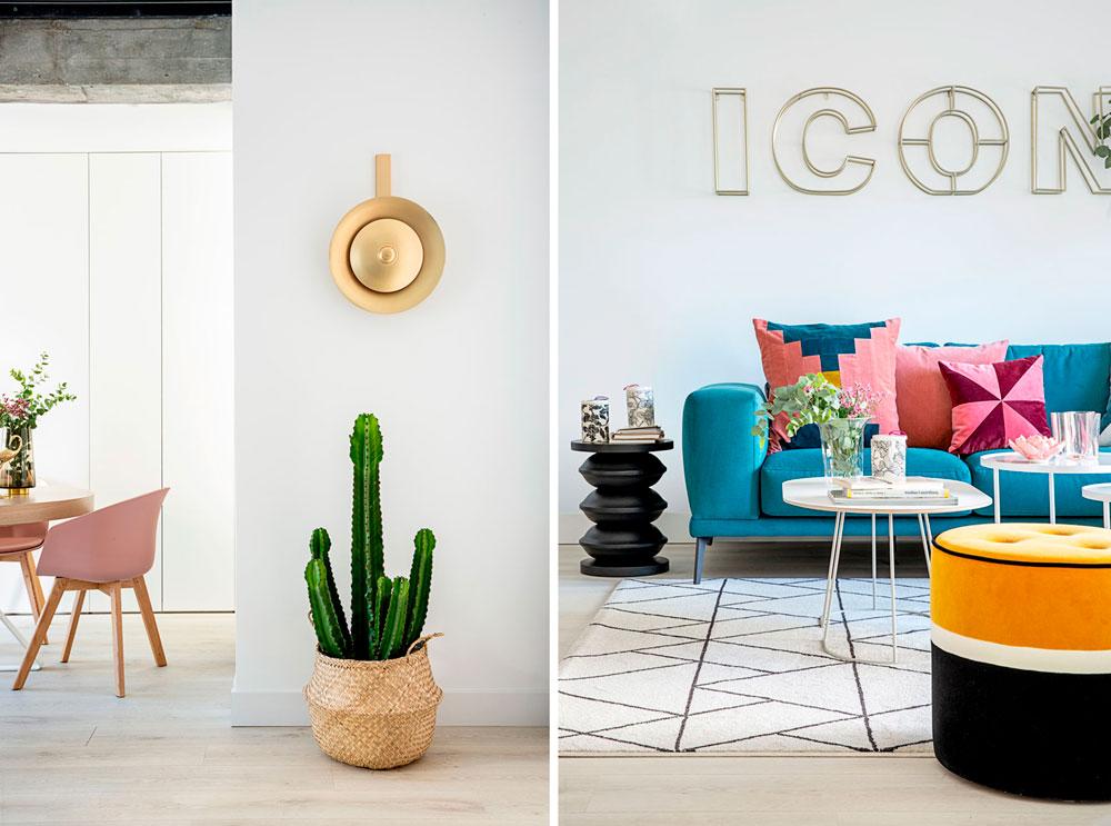 detalles de un piso reformado por Deleite Design