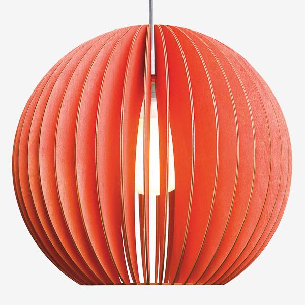 Lámpara Aion de Iumi rojo