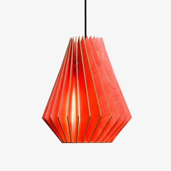 Lámpara Hektor de Iumi rojo