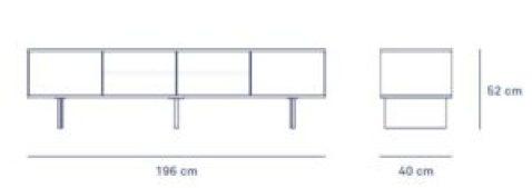 mueble de tele minima de teulat