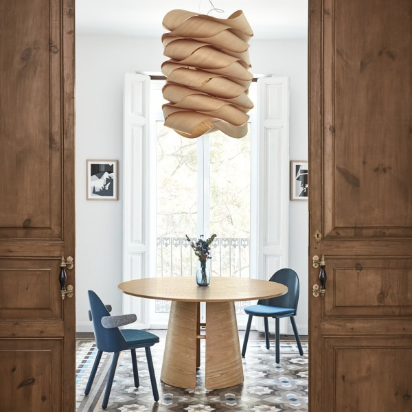 mesa de comedor cep en roble