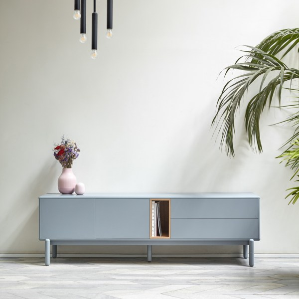 mueble tele corvo gris