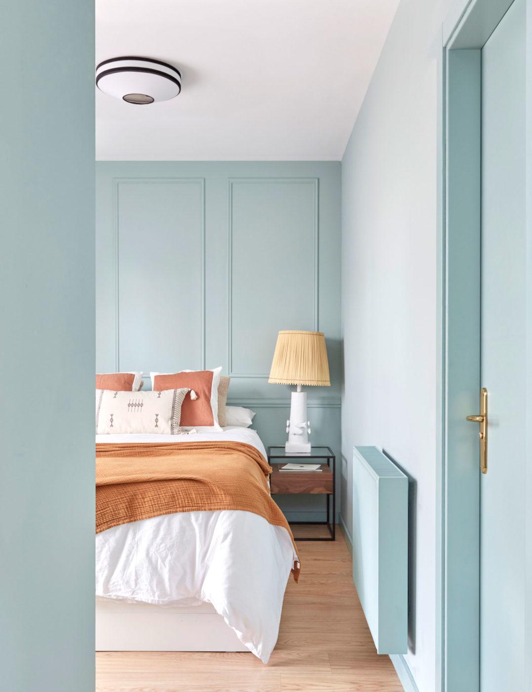 Entrada Dormitorio mini piso Tetuán, Madrid