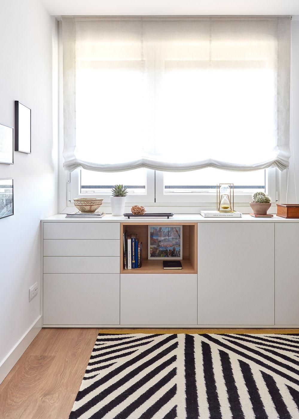 Mueble a medida para almacenaje en despacho
