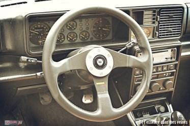 #10Lancia Delta HF Integrale Evo1 WRC VerdeYorktableaubord
