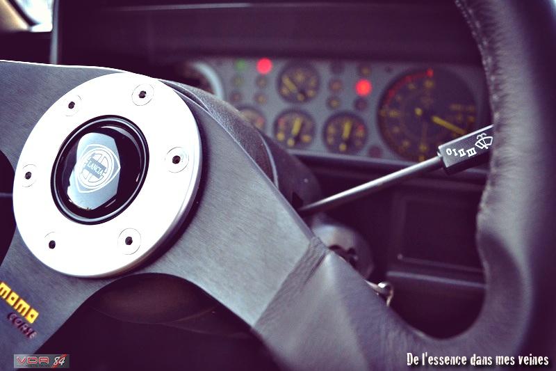 #11Lancia Delta HF Integrale Evo1 WRC VerdeYorkvolantcompteurs