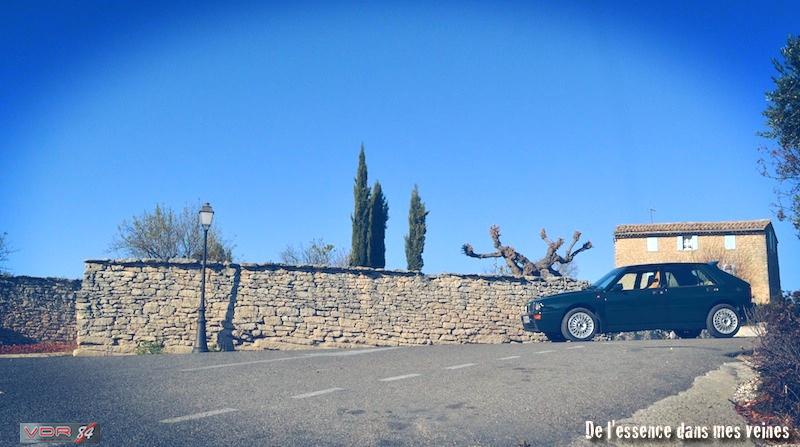 #22Lancia Delta HF Integrale Evo1 WRC VerdeYorkprofilsol