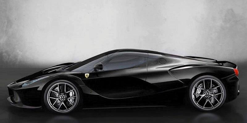 La Ferrari LaFerrari samueletooprofil