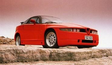 1989 Alfa Romeo Zagato SZ f3q