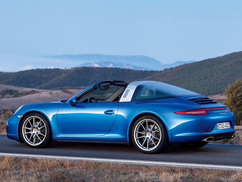 targa991 bleue