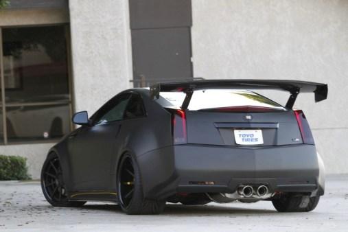 Cadillac CTSV D3 noir matte