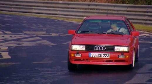 Audi Nurb Quattro on track
