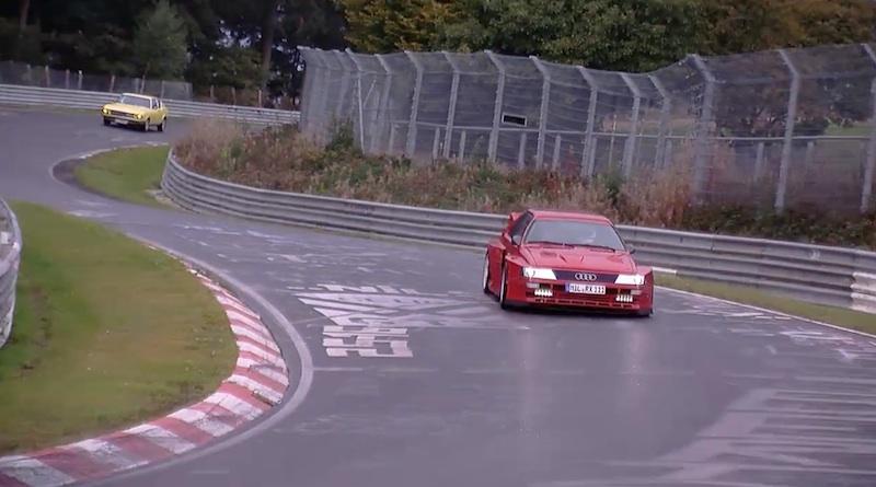 Audi Nurb quattro facelift