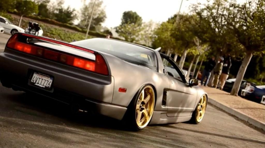 Car and Coffee Irvine NSX