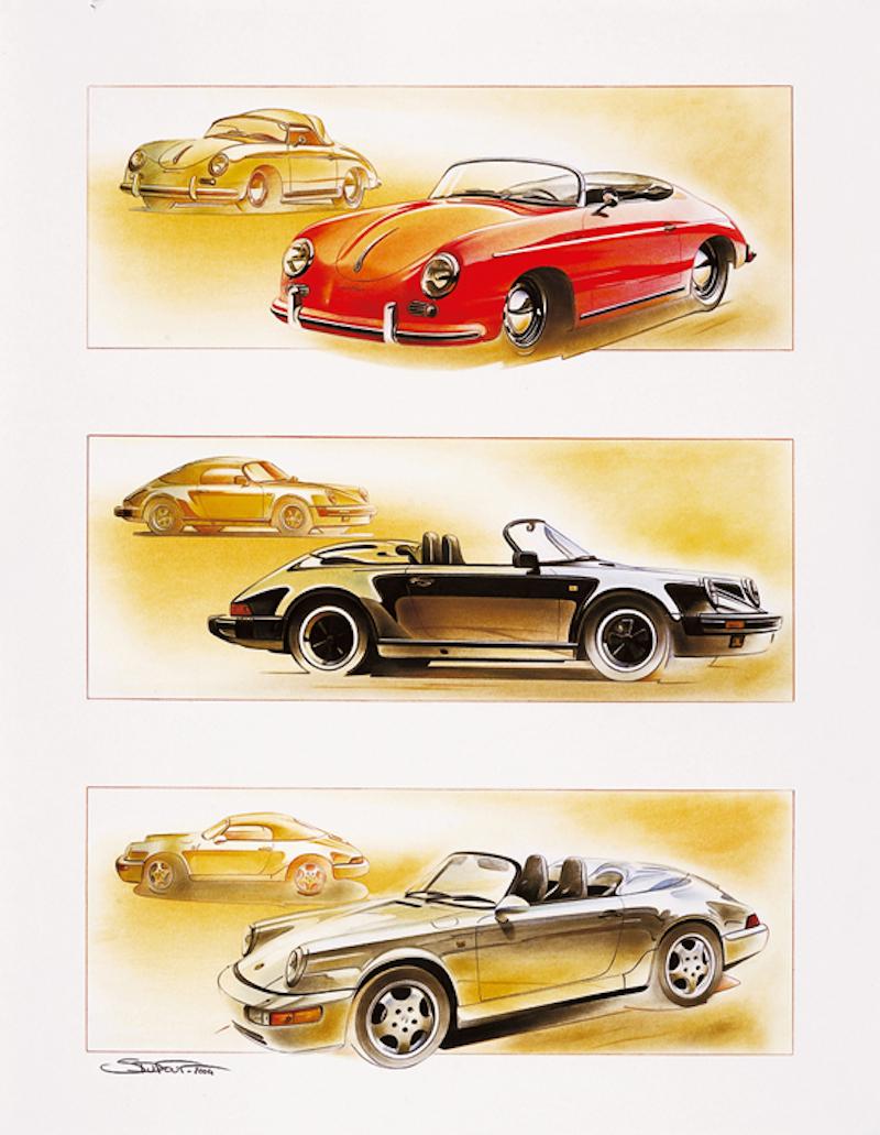 DLEDMV_Stephane_Dufour_Porsche_Artist_Speedster