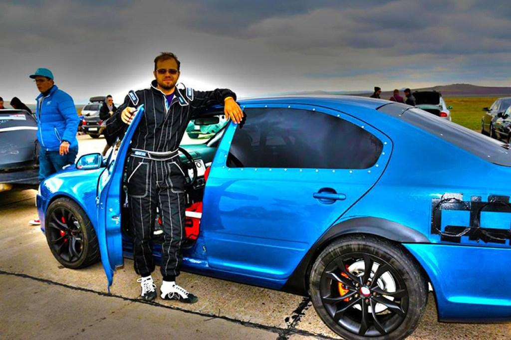 Skoda Octavia RS ... Bimoto ! 1400 cheveux ! 3