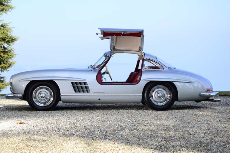 DLEDMV Mercedes 300SL Gullwing Lightweight03