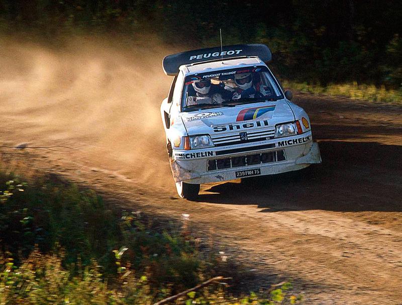 DLEDMV Peugeot 205 T16 Evo2 en action 0002