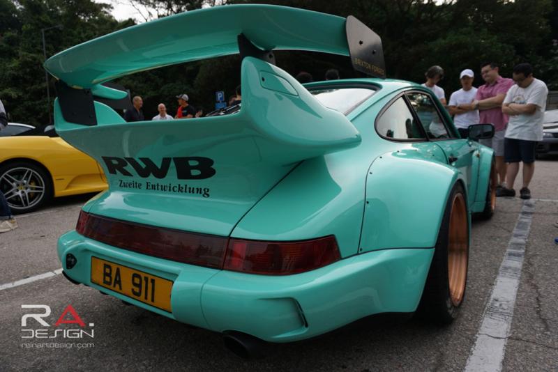 DLEDMV Porsche 964 RWB Hong Kong 011
