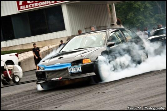 DLEDMV Honda Drag Turbo & flams 03