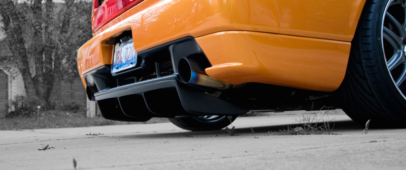 DLEDMV Honda NSX Exhaust Power test 01