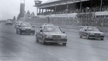 DLEDMV Mercedes 190 2,3 16 race 84 001