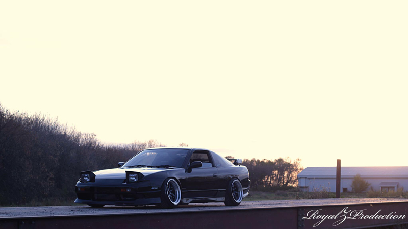 DLEDMV Nissan 180SX S13 Slammed 01