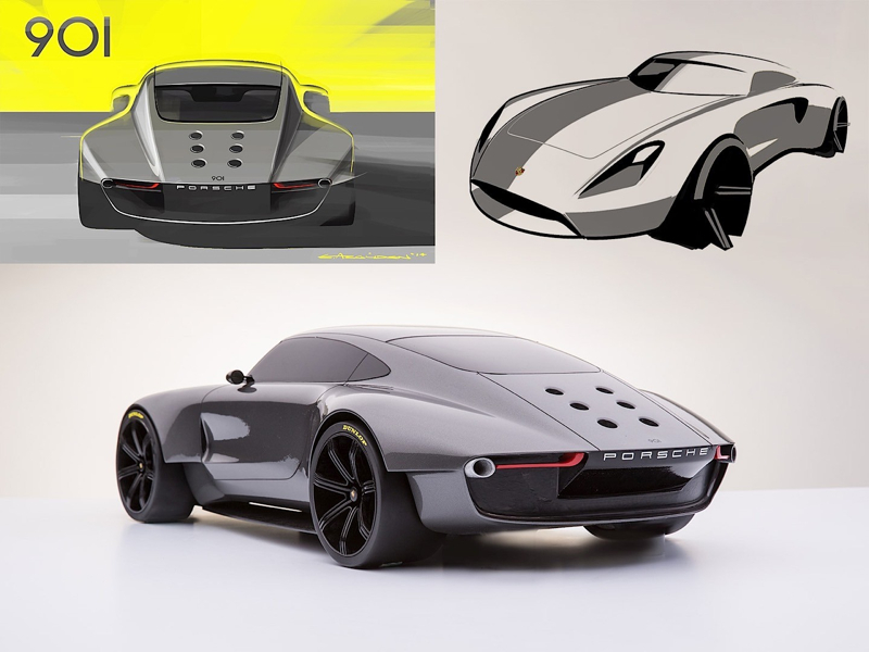 DLEDMV Porsche 901 Concept Ege Arguden 09