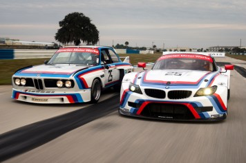 DLEDMV BMW Z4 GTLM & 3.0 CSL Sebring 15